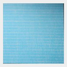 Large oil Painting  blue and white  falling marks
